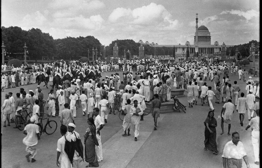 India's First Independence Day: Images